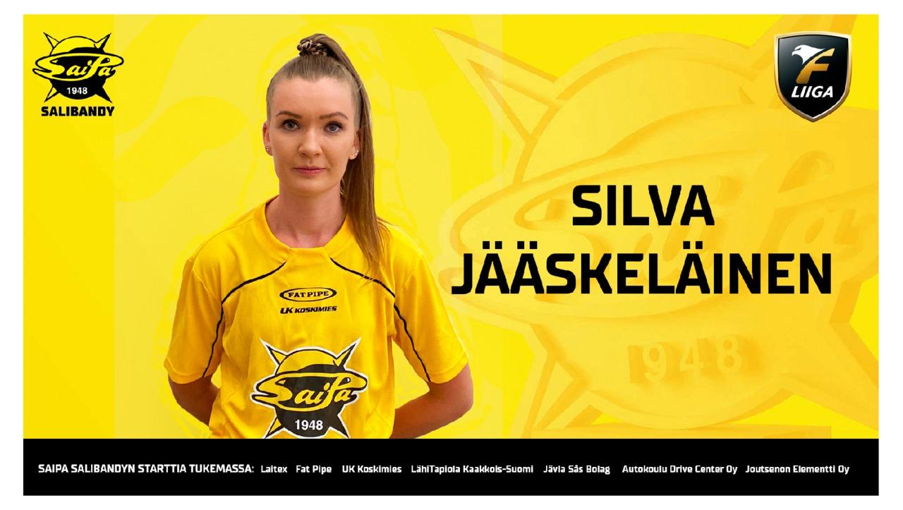Silva Jääskeläinen vuoden mittaisella sopimuksella SaiPa-paitaan