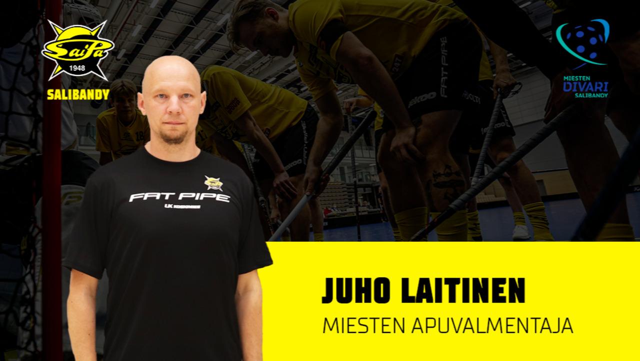 Juho Laitinen SaiPan miesten edustusjoukkueen apuvalmentajaksi
