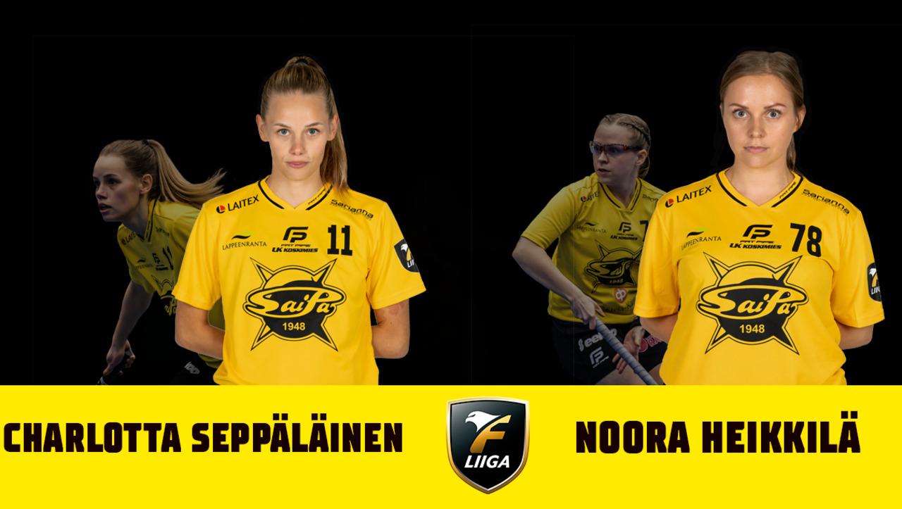 Charlotta Seppäläinen ja Noora Heikkilä jatkosopimuksiin