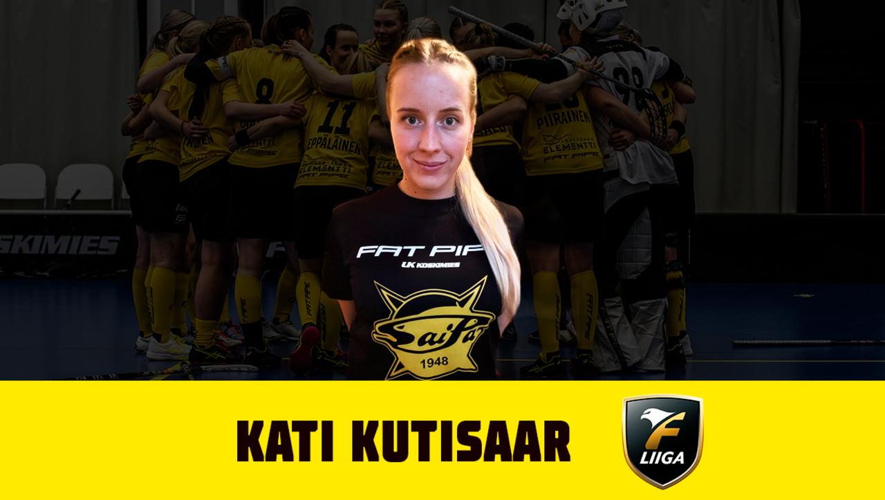SaiPa Salibandy saa ulkomaalaisvahvistuksen – Kati Kutisaar tekee paluun  Lappeenrantaan